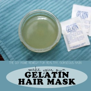 Photo courtesy of homegrownandhealthy.com, http://homegrownandhealthy.com/gelatin-hair-mask/