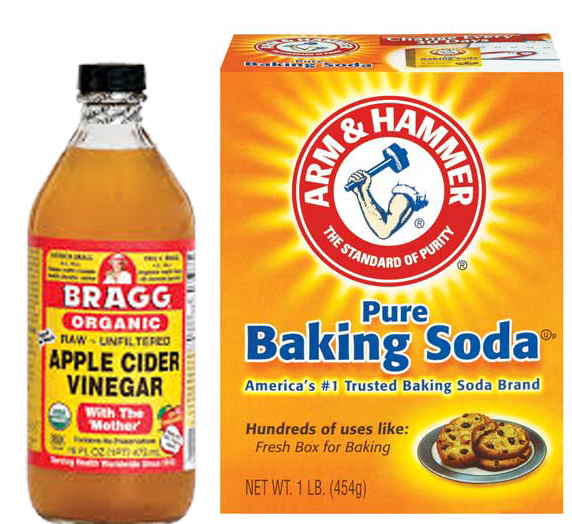 how to remove scalp build up with baking soda